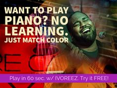 Ivoreez helps you learn to play Free piano online with easy piano lessons & free sheet music. Sing Pop songs and play piano the easy way with song lyrics. Piano Tabs, Color Songs, Music Machine, Onerepublic, Free Piano, Education For All, Free Sheet Music, Never Stop Learning, Pop Songs