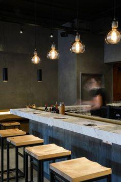Wagamama Winchester - Focus Design. Restaurant Bar Design
