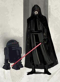 Dark Side Luke by Jim Mehsling