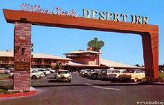 Wilbur Clark's Desert Inn Welcome arch. #midcentury #modern