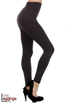 High Waist Thick Fleece Lined Leggings