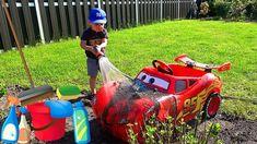 Car wash video for kids. Lightning McQueen get a car wash! Fun Pretend play. Disney Cars Lightning McQueen Car Washing INSTAGRAM https://www.instagram.com/im...