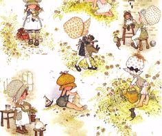 Holly Hobbie wallpaper.