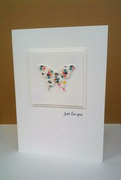 Wonderful washy tape, Butterfly Punch, Stampin' Up!, Teeny Tiny Wishes