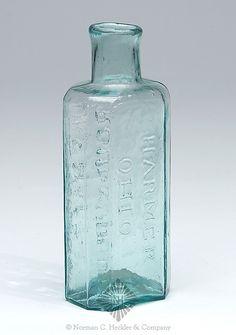 Dr. S Harts -  Croup Syrup -  Harmer -  Ohio -  Medicine Bottle, America, 1840-1860. -