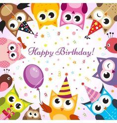 My Second Favorite Happy Birthday Meme Happy Birthday Owl, Happy Birthday Pictures, Happy Birthday Messages, Happy Birthday Quotes, Birthday Love, Happy Birthday Greetings, Birthday Greeting Cards, Birthday Uncle, Card Birthday