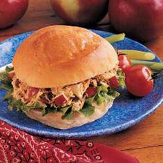 Curried Tuna Sandwich Recipe