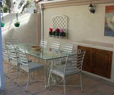 South Africa has a wonderful climate of sunny skies and gorgeous gardens. What better way than to enjoy this than with patio furniture styled to perfection. Iron Furniture, Furniture Styles, Online Furniture, Furniture Making, Outdoor Furniture Sets, Outdoor Decor, Aluminum Patio, Discount Furniture, South Africa
