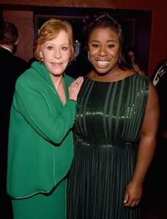 Pin for Later: 76 Moments From the SAG Awards That You Probably, Definitely Missed  Pictured: Carol Burnett and Uzo Aduba