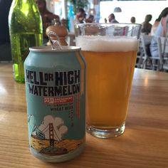 Hell or High watermelon beer 깔끔한 맛 lost coast brewery watermelon 보다는 수박향은 덜 함
