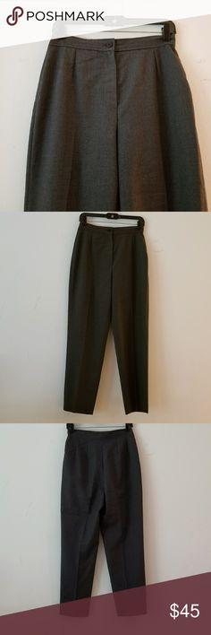 Vintage Giorgio Armani Slacks Vintage Giorgio Armani Gray Slacks Giorgio Armani Pants Trousers