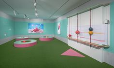 Pastello -Draw Act exhibition x National Gallery of Victoria in Melbourne by Mathery Studio