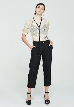Patti trousers - Pre Order : Kate Sylvester - Shop Online - Kate Sylvester S16P