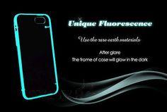 BUMPER Cover Custodia Case Luminoso FLUORESCENTE Trasparent per iPhone 5/5S