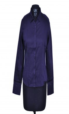 Allen Solly Purple Striped Shirt