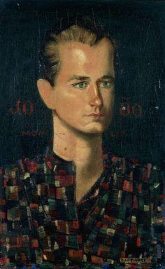 Retrato de João (Portrait of John, 1959 by Candido Portinari (Brazilian 1903-1962)