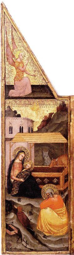 Andrea di Buonaiuto da Firenze - Altarolo, dettaglio - c. 1365-1370 - collezione privata