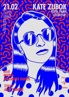 Posters for Boom Boom Room on Behance