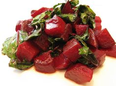Sauteed Beets Recipe  use coconut oil instead of butter