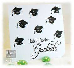 Great card! Especially if you have lots of graduations to go to this year, this would be easy to make multiples of!