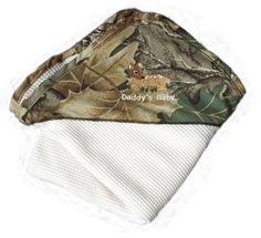 Camouflage Baby Thermal Blanket