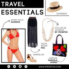 TRAVEL ESSENTIALS: No salgas  este fin de semana sin estos básicos para viaje!  #prisstin #feel #shop
