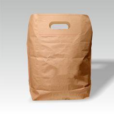 Zementsacktasche mit Griffloch