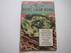 1930 The Heinz Salad Book Vintage Cookbook by H J Heinz Company 57 Varieties Cook Book by aroundtheclock on Etsy