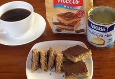 Choc Caramel Wafer Slice - Real Recipes from Mums