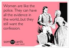 Women & Confessions