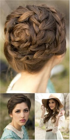 so beautiful rose braids!!!