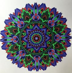 ColorIt Mandalas to Color Volume 1 Colorist: Josie Dark #adultcoloring #coloringforadults #mandalas #mandala #coloringpages