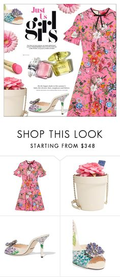 """""""Pretty Flowers"""" by cilita-d ❤ liked on Polyvore featuring Gucci, Kate Spade, Dolce&Gabbana, H&M and L'Oréal Paris"""