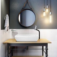 Blog da Revestir.com: Mistura de clássico e versatilidade, Angra, da Meber, traz monocomando e torneiras para banhos e cozinhas e com cores