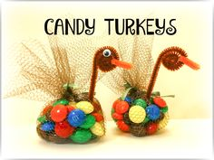 My family has been making these DIY candy turkeys each Thanksgiving for years. I think of these turkeys when I think of Thanksgiving. Kids love them!