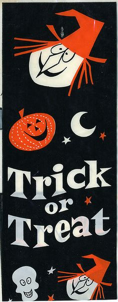 Vintage Halloween Candy Band