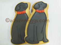 Black Lab Cookie Favor