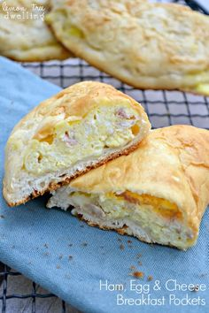 Ham, Egg, & Cheese Breakfast Pockets