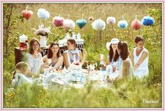 be5d55b830 Hey Sommer - Wo bist Du? Wir wollen picknicken! Tolles Sommer-Picknick Deko-Set  zu gewinnen
