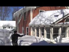 SnowRoof:  Dealing with heavy snow on your roof:  removal tips and snow load concerns