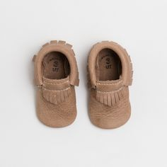 Weathered Brown - Utah Collection Moccasins
