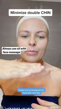 Skin Tips, Skin Care Tips, Face Massage, Massage Oil, Face Yoga Method, Face Yoga Exercises, Facial Yoga, Beauty Tips For Glowing Skin, Face Skin Care