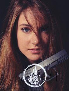 Divergent Cast ~ Shailene Woodley as Tris Prior☠