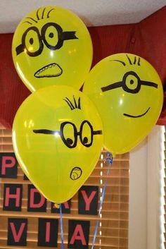 A festa dos Minions é alegre, criativa e não pesa no orçamento. Confira ideias simples e baratas para montar uma decoração de aniversário com esse tema.
