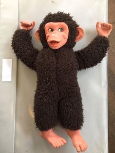 Vintage Jacko The Monkey Toy Rare