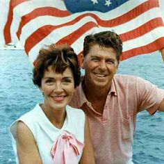 Nancy and Ronald Regan