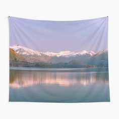 """""""Calm Mountains"""" Tapestry by ind3finite 