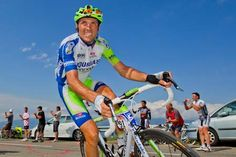 Ivan Basso, great professional cyclist and almost always looks like he's smiling :)