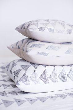 via Nuraxi - a Modern Trading Post / susan connor cushions