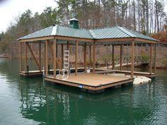 lake house deck designs | Boat Dock Designs Building Plans – House ...